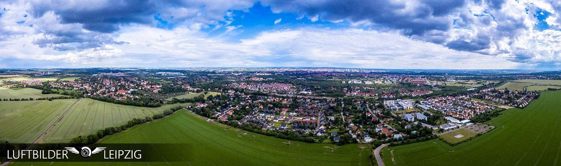 Luftbilder Leipzig - Panorama Erstellen - Tutorialergebnis