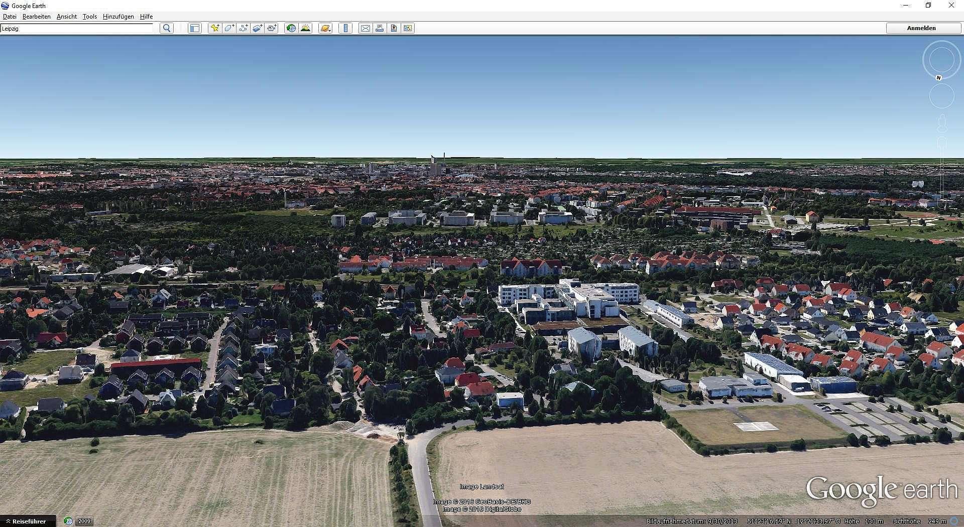 Luftbildpanorama Erstellen - Google Earth